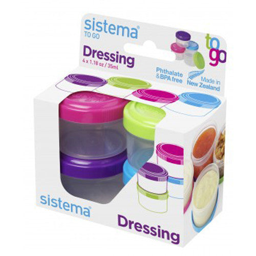 TO GO Dressing Pots