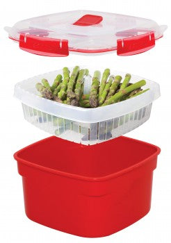 MICROWAVE Steamer - The Organised Store