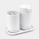 Brabantia Bathroom Accessory Set-White or Black