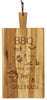 Wood Chop Board BBQ