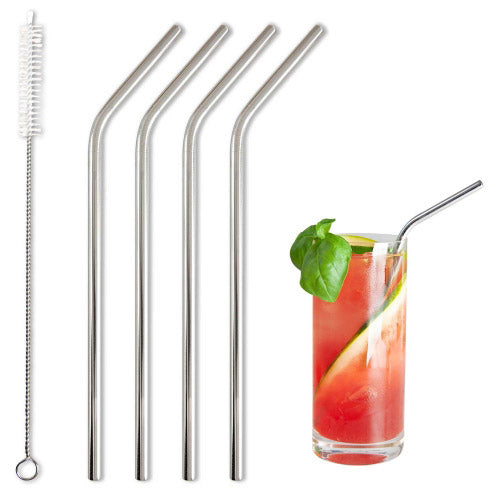 BarBaydos Stainless Steel Drinking Straws