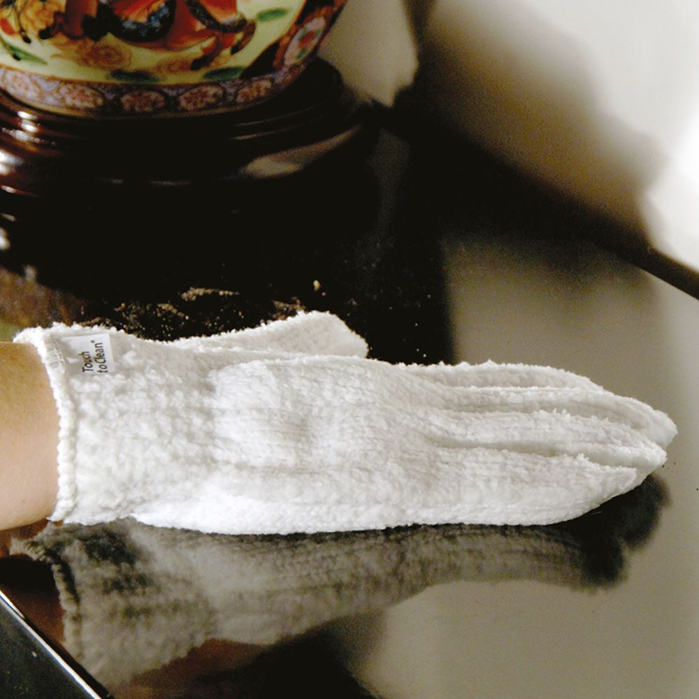 Touch to Clean Super Microfiber Dust Eating Glove - Pair - The Organised Store