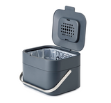 Stack 4 Waste Compost Caddy Grey or Stone - The Organised Store