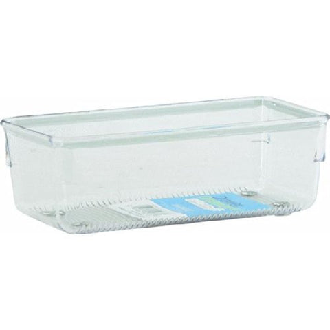 LINUS  Drawer Organiser 4 x 12 x 3 - Clear