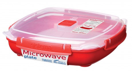 MICROWAVE Plate - The Organised Store