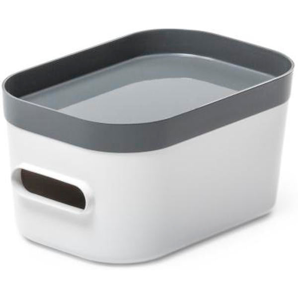 Smart Store Compact Lid White/Grey - The Organised Store