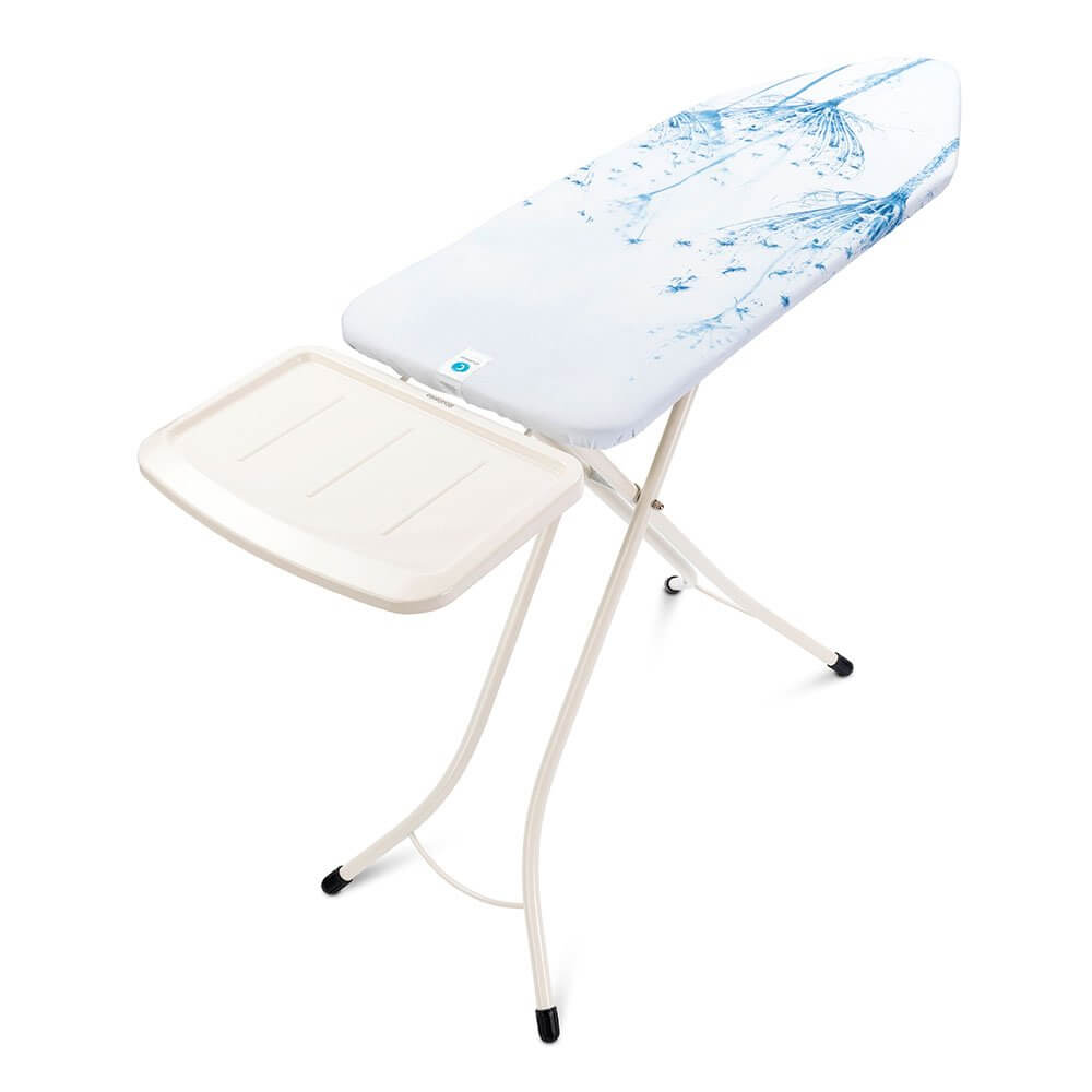 Ironing Board C 124x45cm Steam Iron Rest Cotton Flower