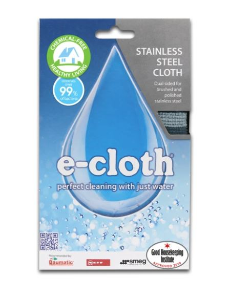 E-Cloth Stainless Steel Cloth - The Organised Store