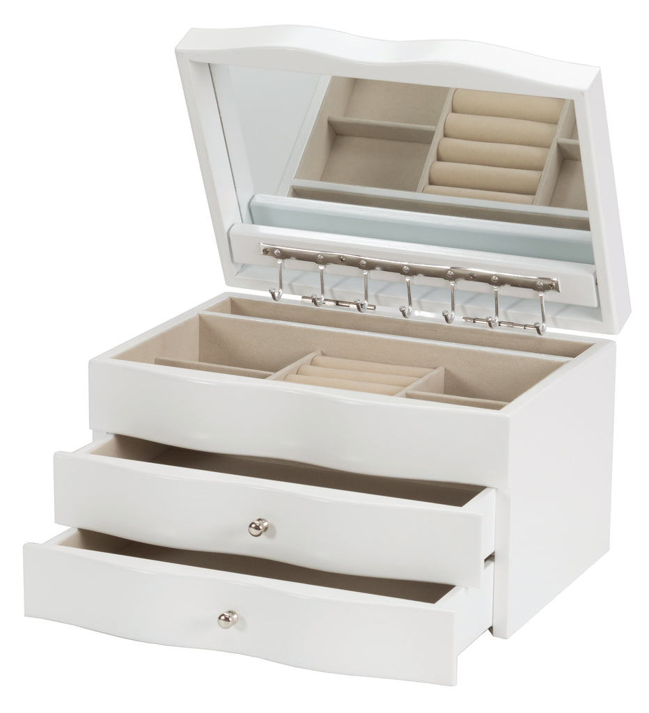 White Jewelry Cases- Variety