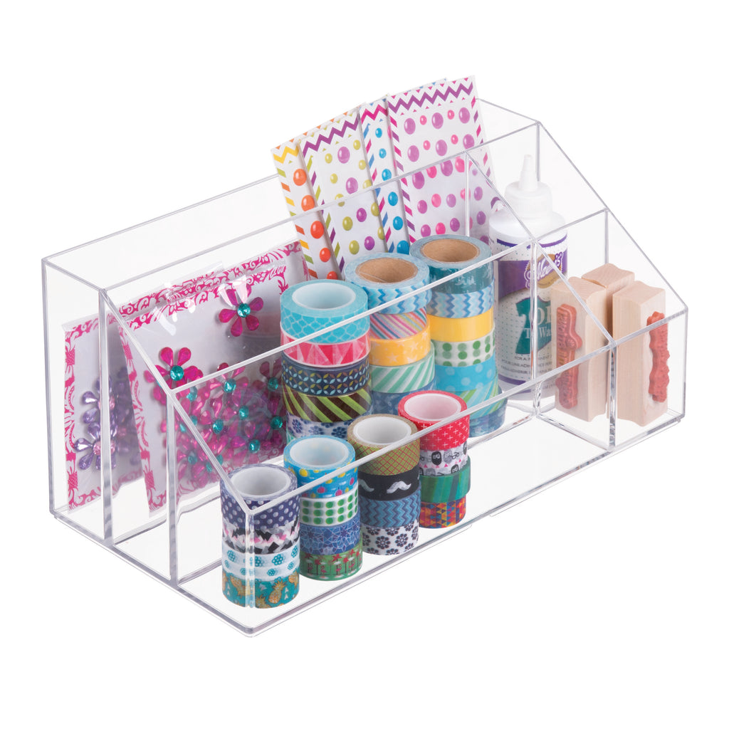 Cosmetic Organizer with 5 Departments - The Organised Store