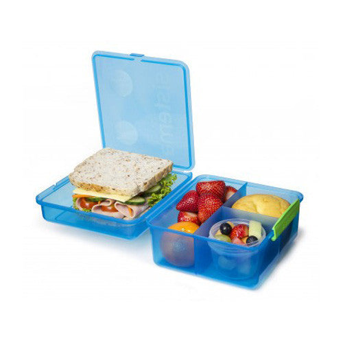 2L Lunch Cube Max with Yogurt Pot