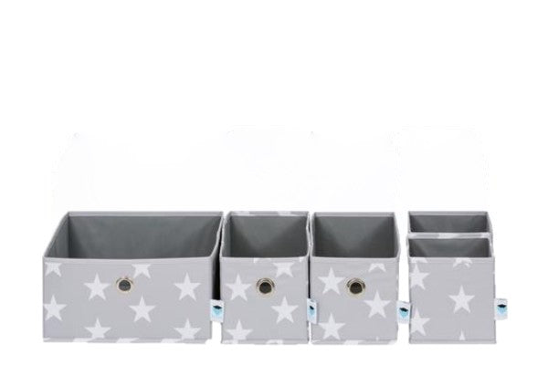 Set Of 5 Drawer Dividers Grey - The Organised Store