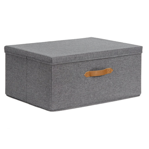 Fabric Under Bed Storage Box 4 Compartments