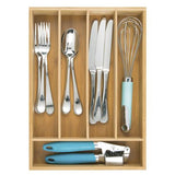 Bamboo Design Cutlery Tray