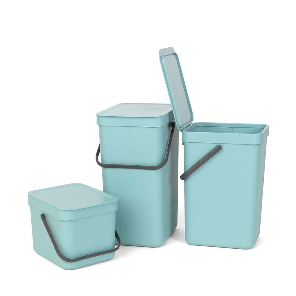 Sort & Go Waste Bin 12L - The Organised Store