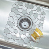 INTERDESIGN Pebblz Sink Mat