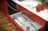 LINUS Drawer Organiser 3 x 9 x 2 - Clear - The Organised Store