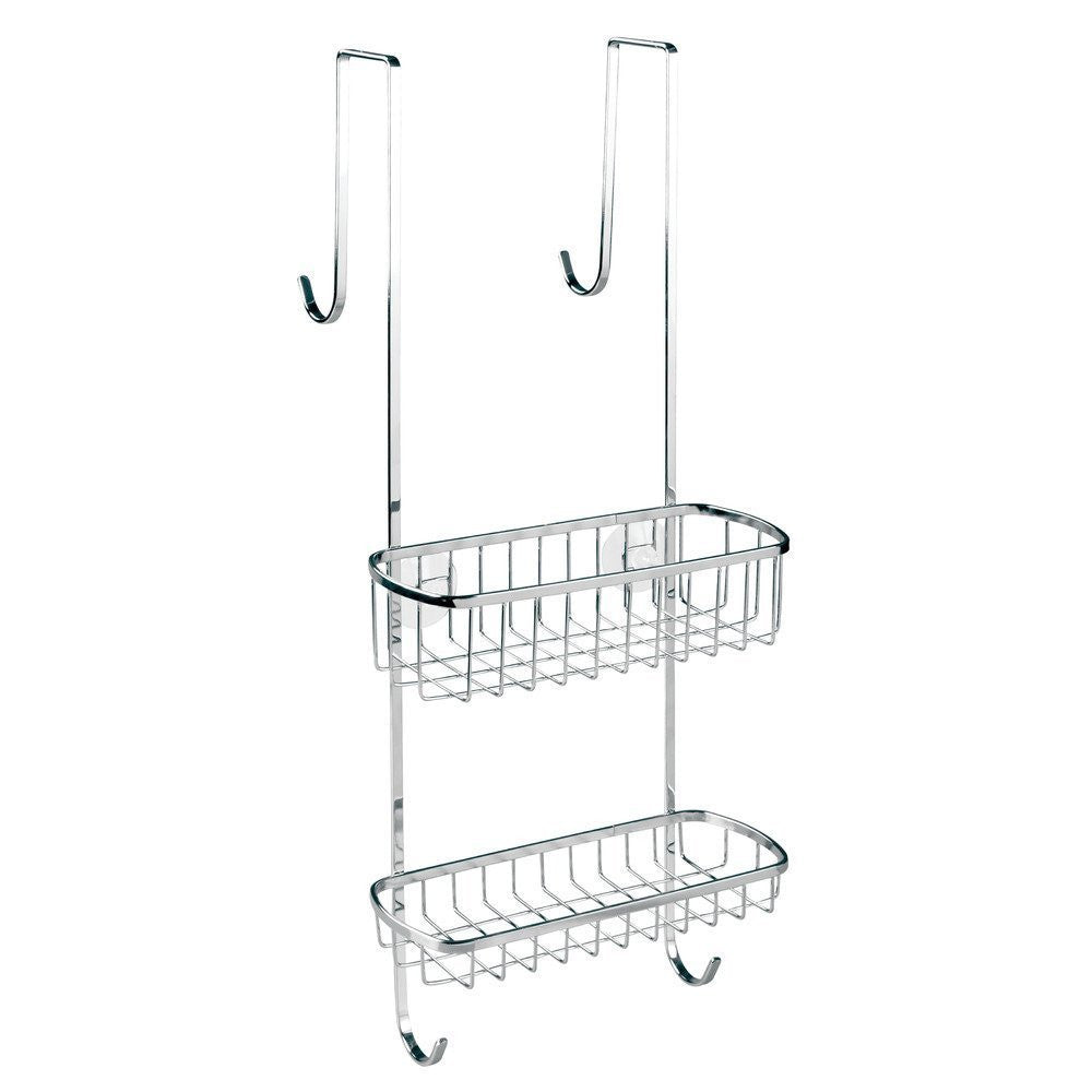 Gia Over Door Shower Caddy Chrome The Organised Store