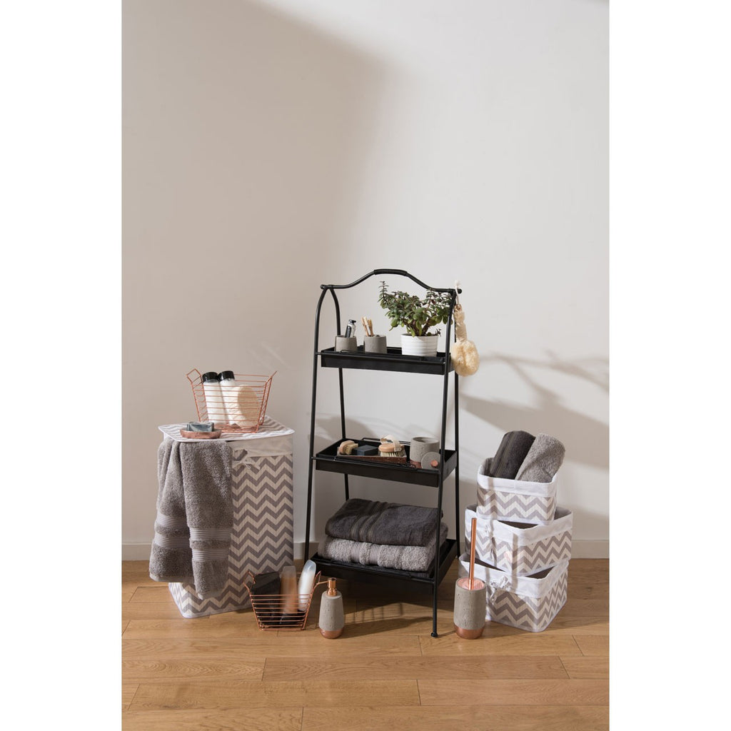 Lexa Storage Rack Black - The Organised Store