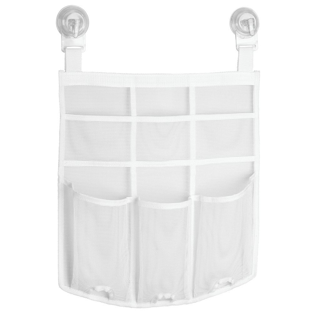 UNA Power-Lock Shower Caddy White – The Organised Store