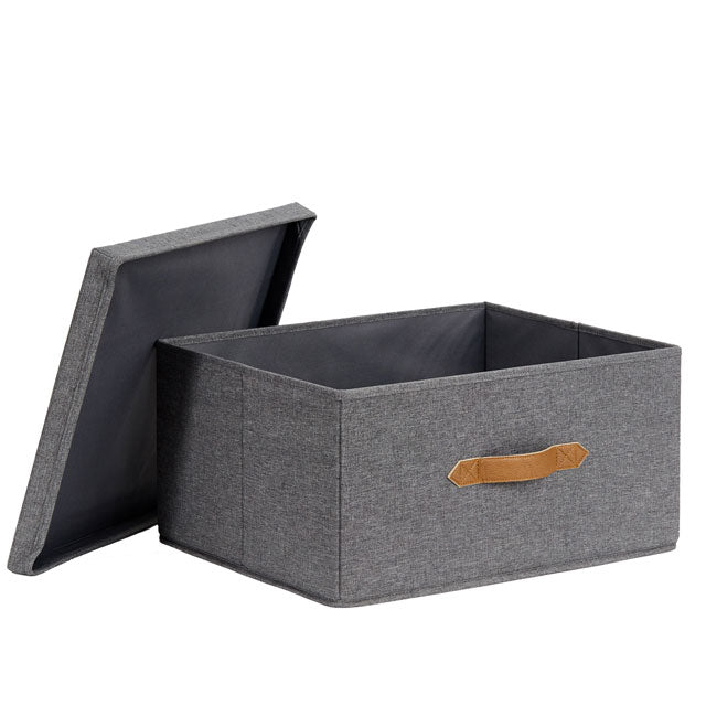Premium Storage Box with Lid - The Organised Store