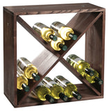 Wine Crate Wood Diamond 24 Btl - The Organised Store