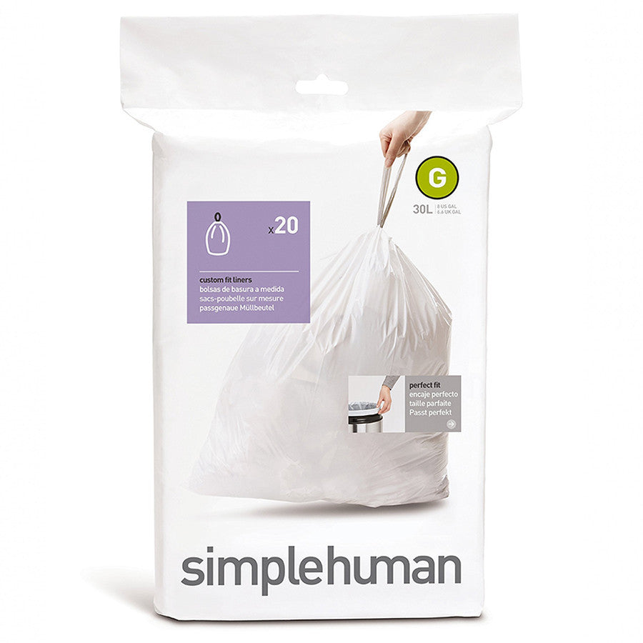 Simplehuman Code G Liners - The Organised Store