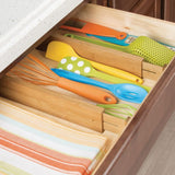 Formbu Bamboo Drawer Dividers Set