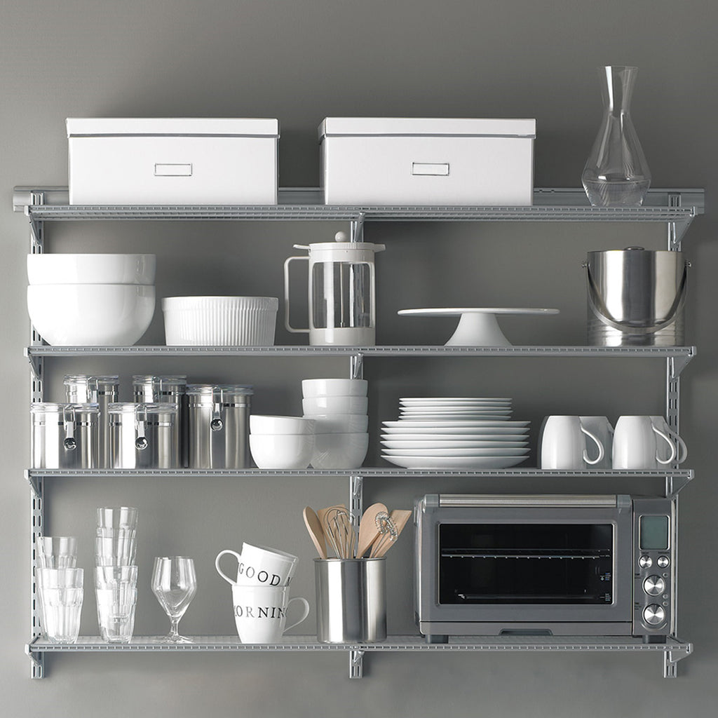 Elfa Kitchen Wall Shelving Bundle The Organised Store