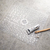 Square Stall Shower Mat