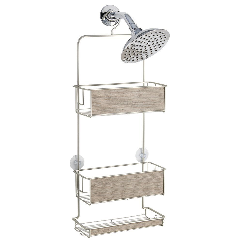 Shower Caddy Satin Wooden Rust Proof – The Organised Store