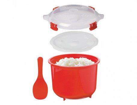 MICROWAVE Rice Steamer 2.6L - The Organised Store