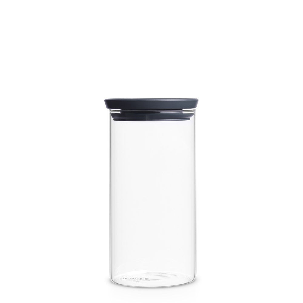 Stackable Glass Jar 1.1L - The Organised Store
