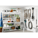 Ventilated Shelf Basket White - The Organised Store