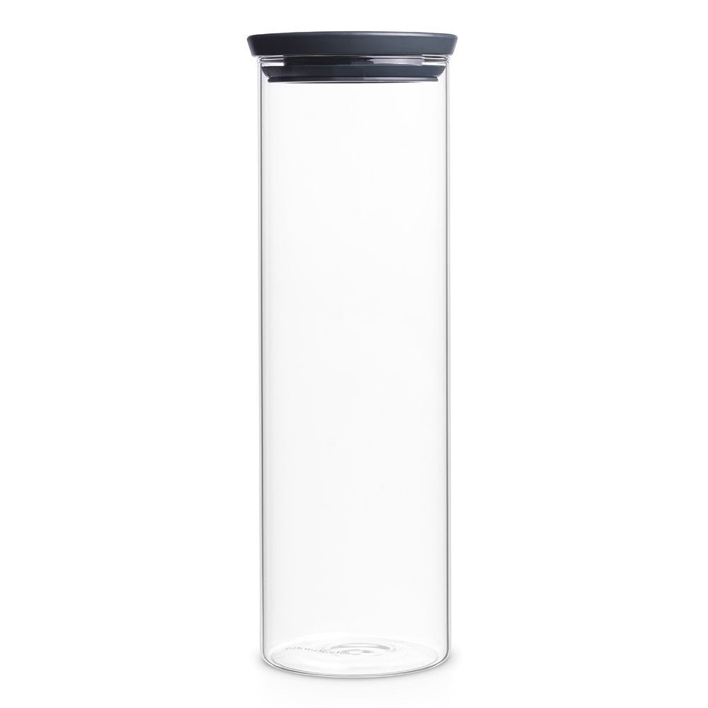 Stackable Glass Jar 1.9L - The Organised Store