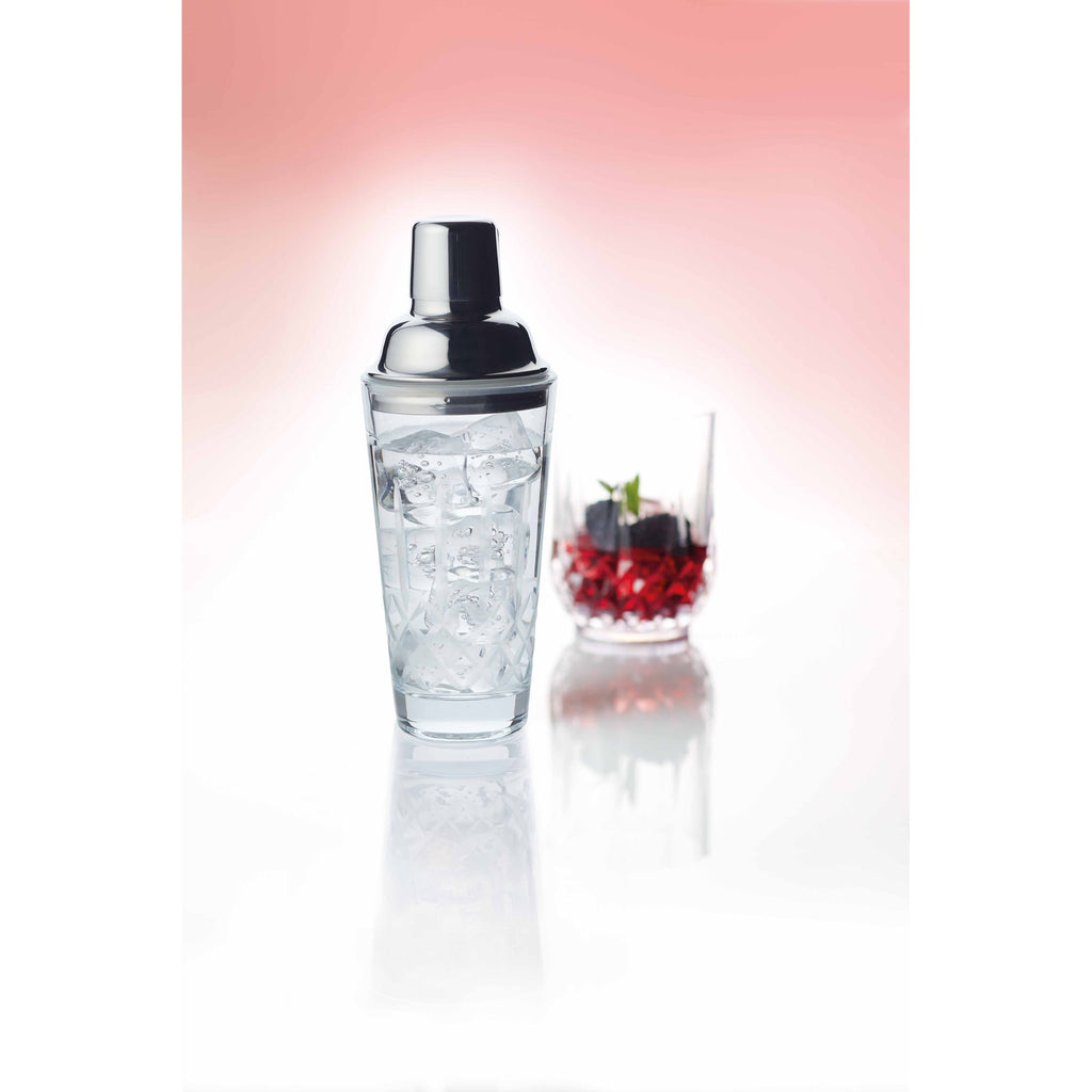 Cut Glass Cocktail Shaker 350ml