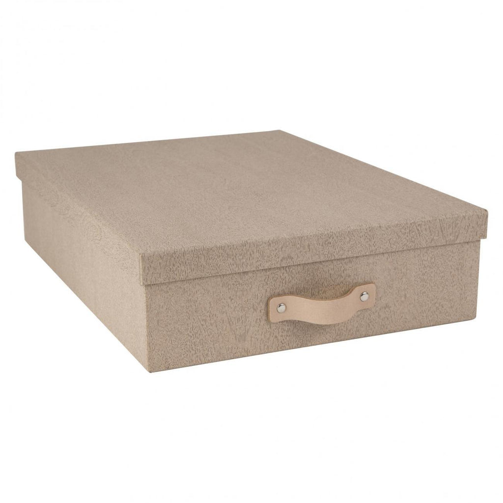 OSKAR DOCUMENT BOX A4 Pale Oak - The Organised Store