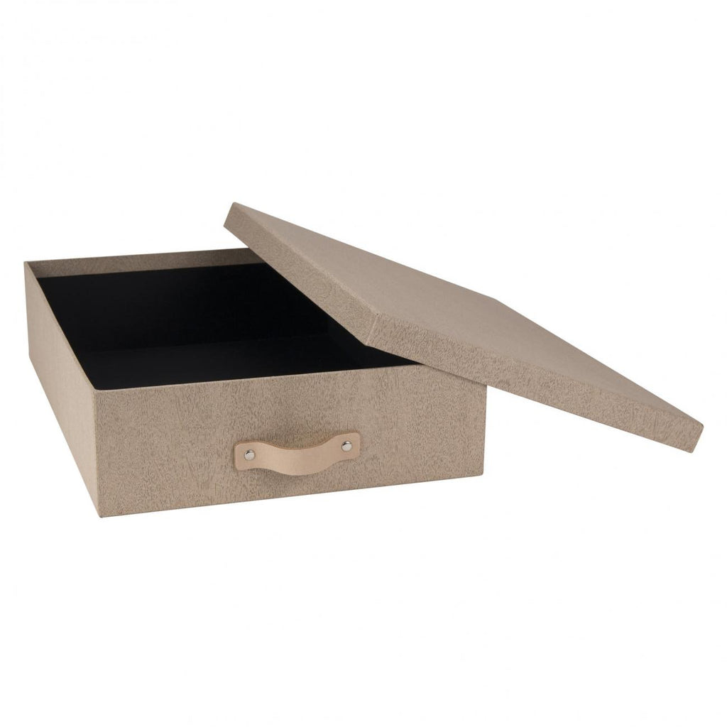 OSKAR DOCUMENT BOX A4 Pale Oak