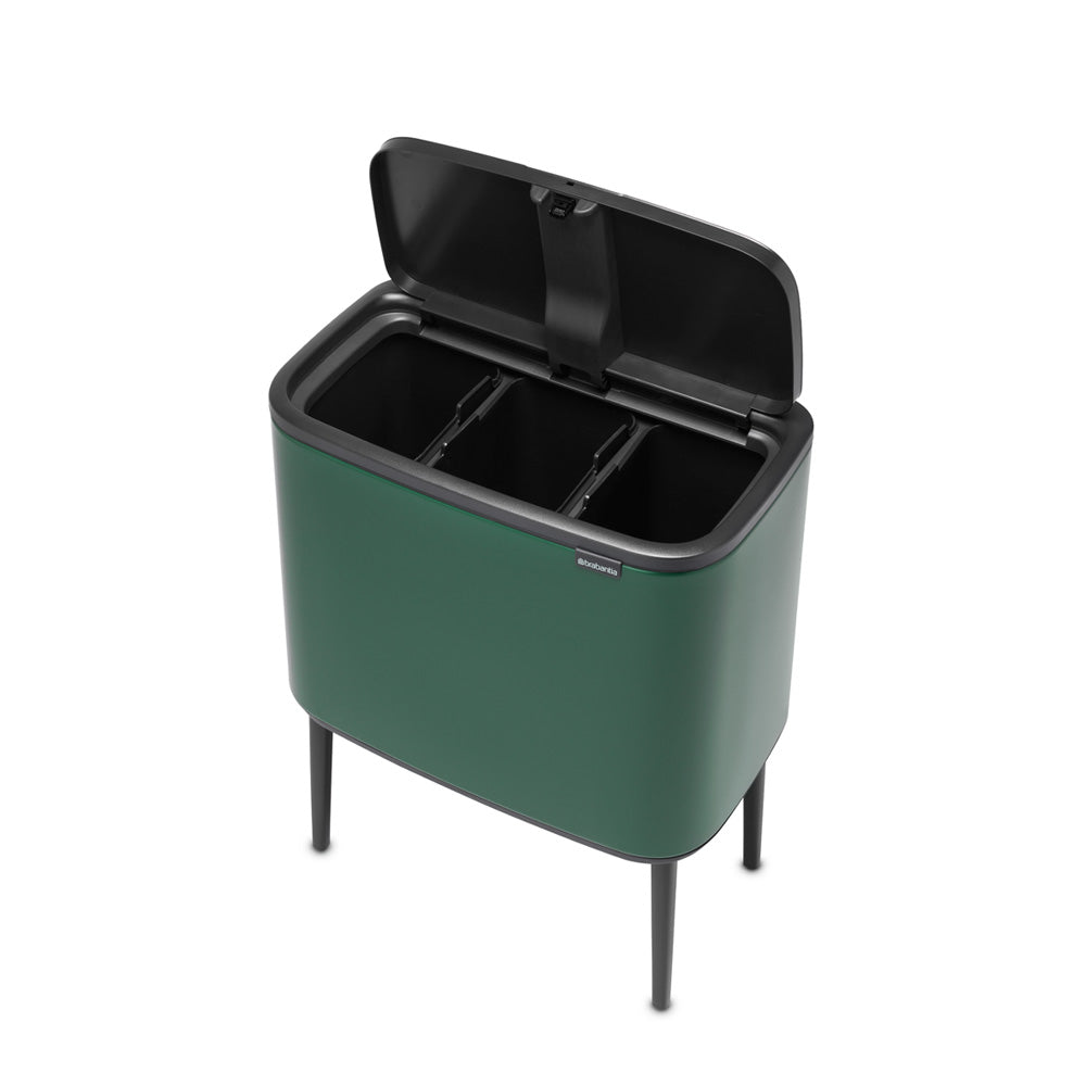 Bo Touch Bin- NEW Pine Green- Various waste options