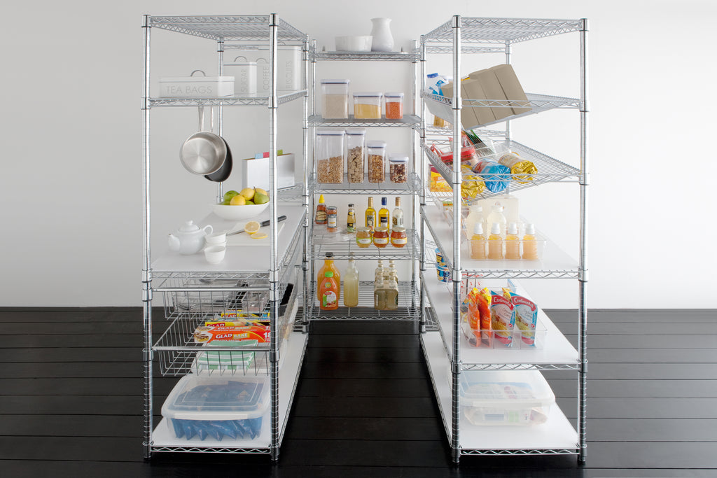 Chrome Shelves- Various Sizes - The Organised Store