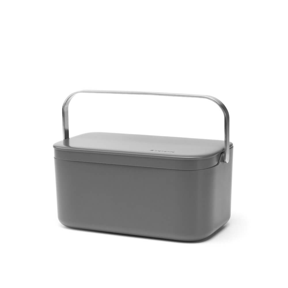 Food Waste Caddy Mint or Grey - The Organised Store
