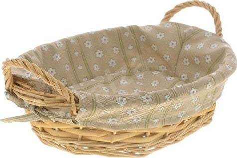 Bread Basket with Wicker Lining