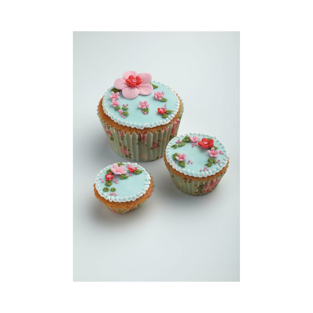 Sweetly Does It Pack of 60 Vintage Rose Cupcake Cases