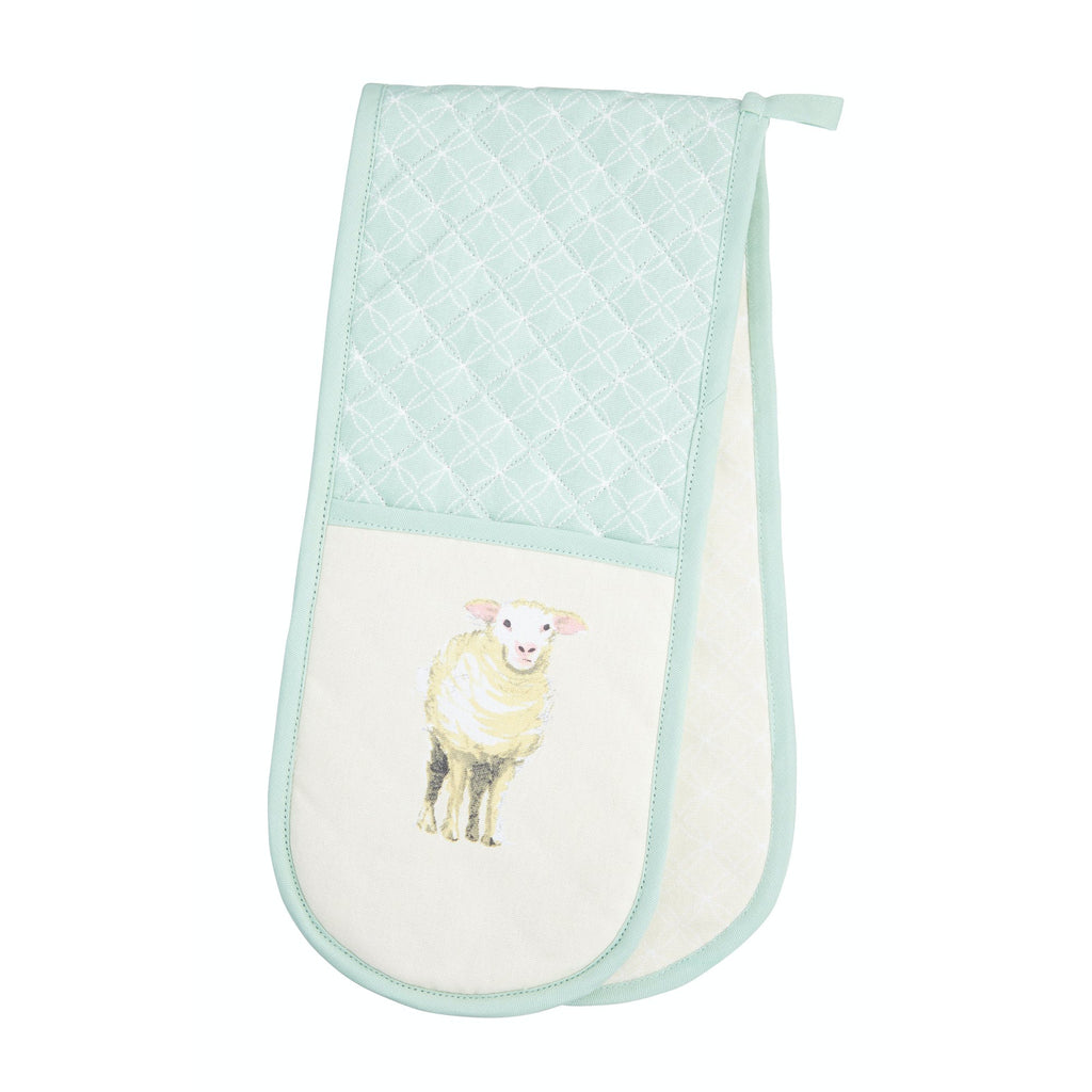 Farmyard Animals Double Oven Glove