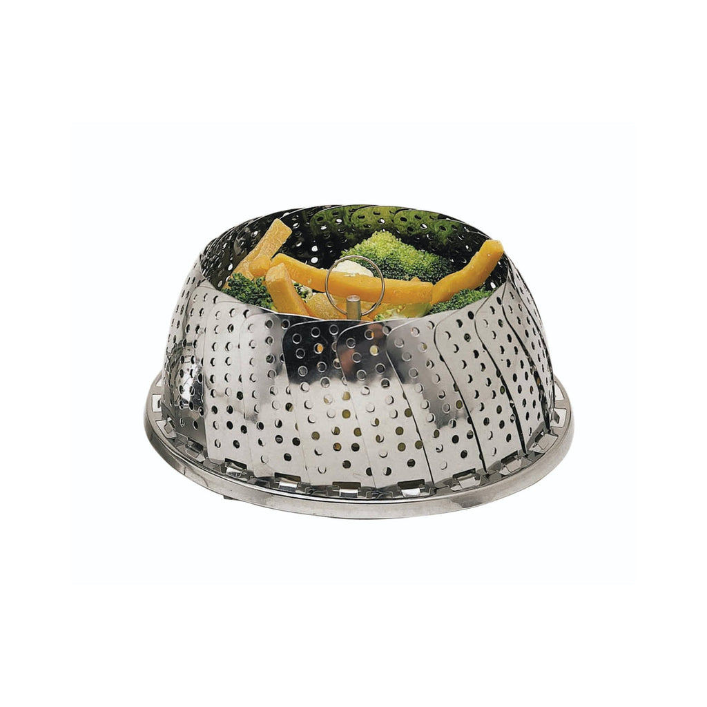 Stainless Steel Collapsible Steaming Basket