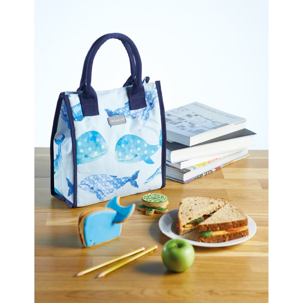 KitchenCraft 4 Litre Whale Lunch / Snack Cool Bag