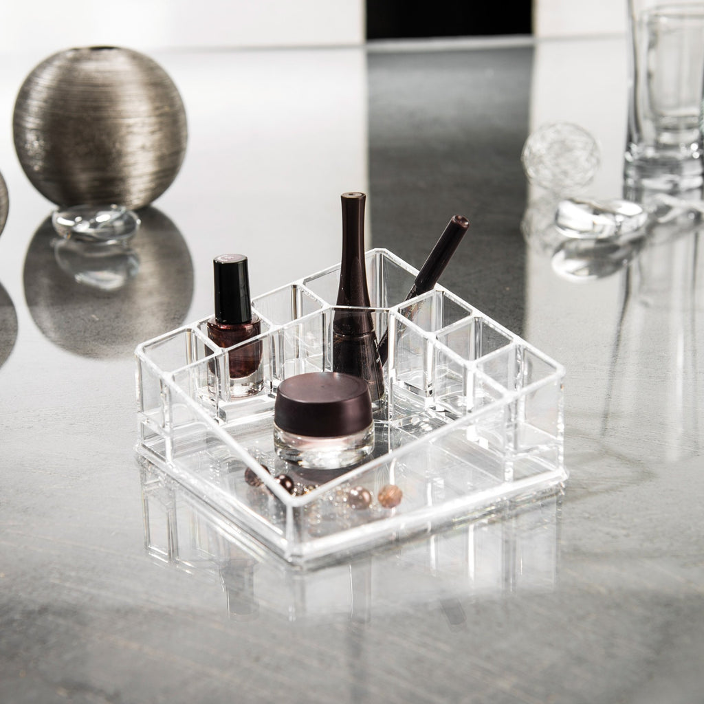 Cosmetic Organizer Small Holder With 8 Departments - The Organised Store