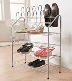 Four Tier Shoe Rack - The Organised Store
