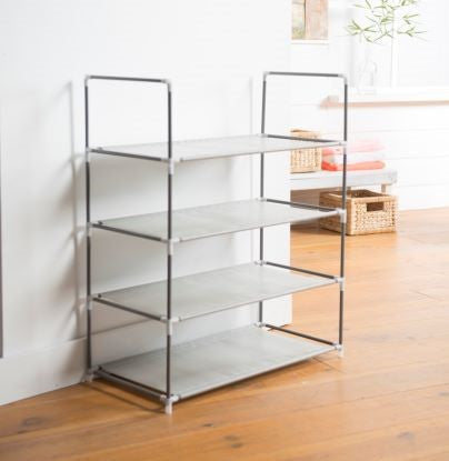 4 Tier Shoe Rack - The Organised Store
