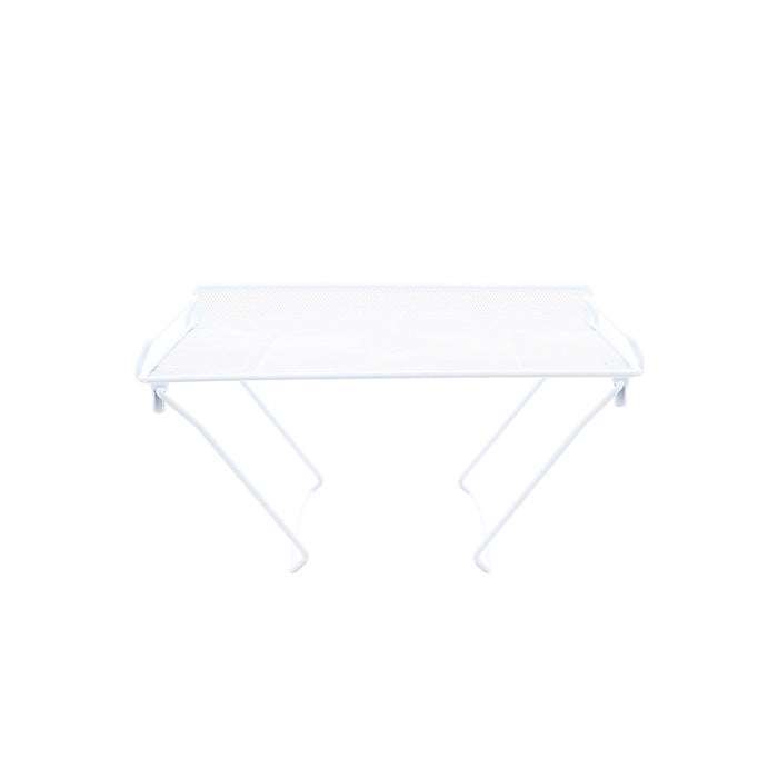 Fold and Stack Mesh Shelf- White Medium